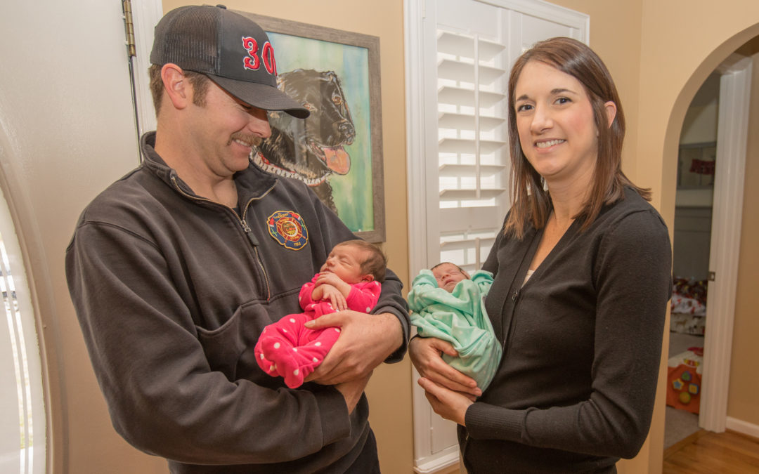 First Responders Welcome Newest West Ashleyians
