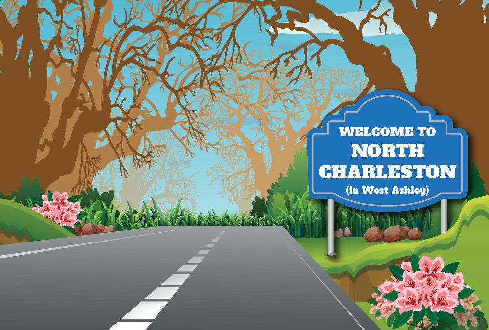 Welcome to North Charleston (in West Ashley)