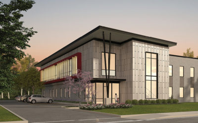 City Breaks Ground On Forensics Building