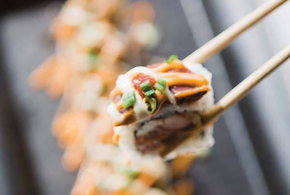 Sushi at a Sports Bar?