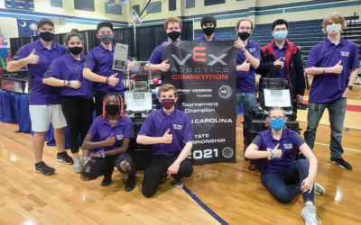WAHS Robotics Team Wins State Championship