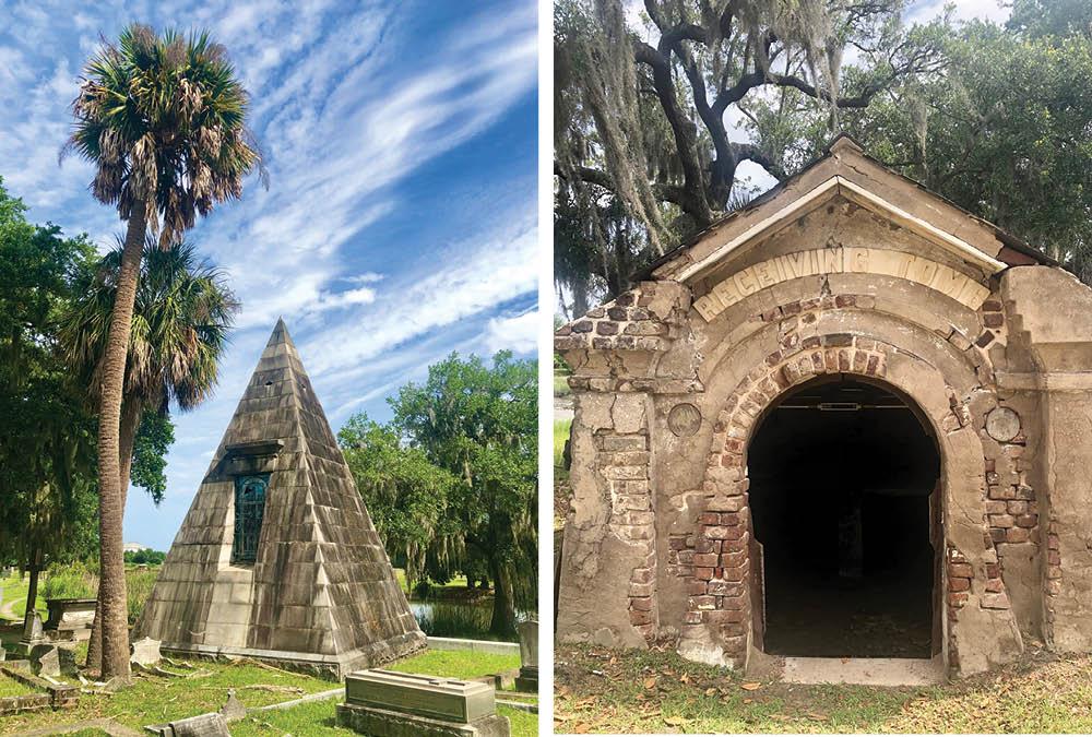 Day Trippin —Magnolia Cemetery